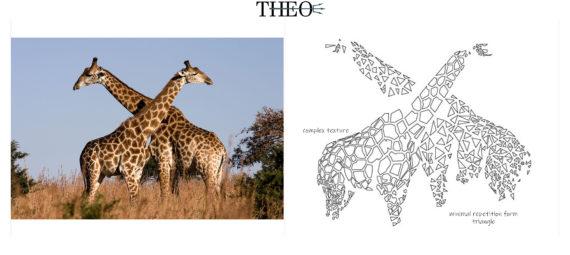 texture giraffe